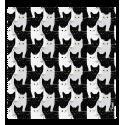 Tissu microfibre pour lunettes - Belle Vue Dahlia