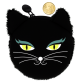 My Coins - Porte-monnaie Black Cat