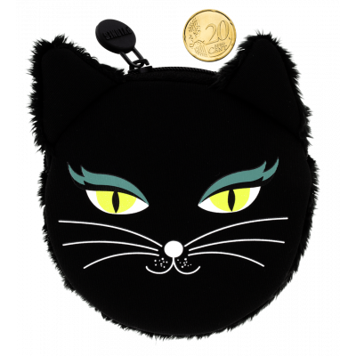 Purse - Cat My Coins - Black Cat