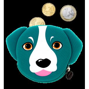 Purse - Cat My Coins - Blue Dog