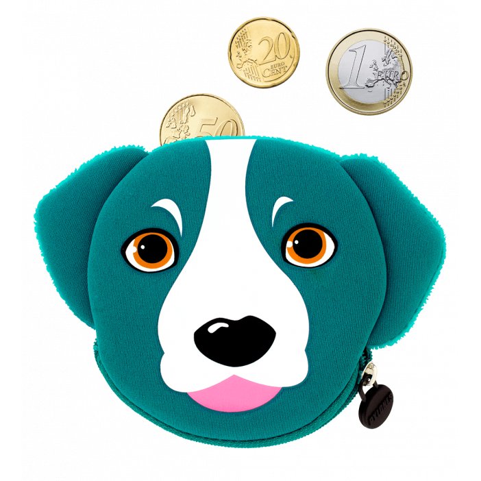 Porte-monnaie - Cat My Coins Blue Dog