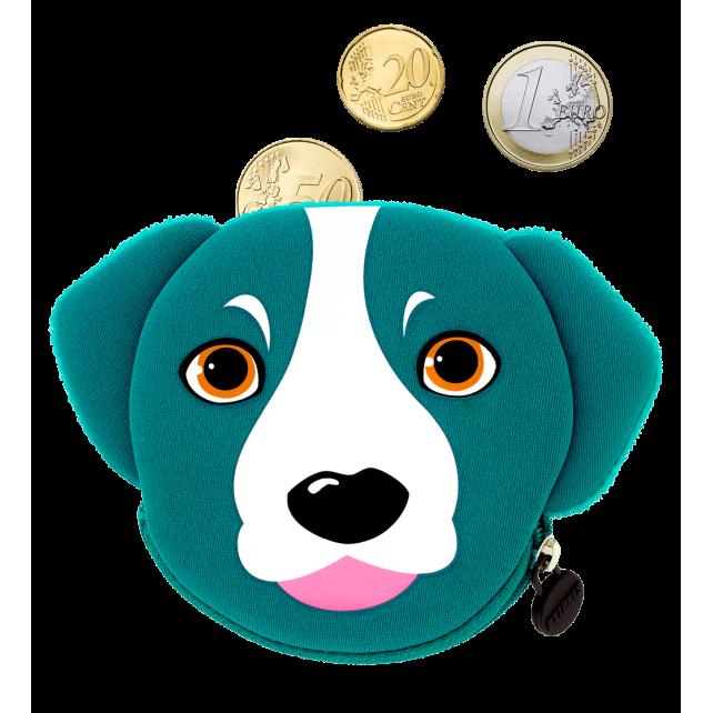 Geldbörse - Cat My Coins Blue Dog
