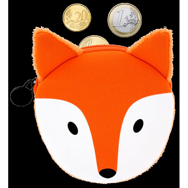 Porte-monnaie - Cat My Coins Fox