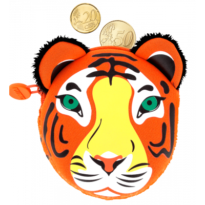 Purse - Cat My Coins - Tiger