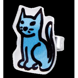 Bagues BD - Chat Bleu 2