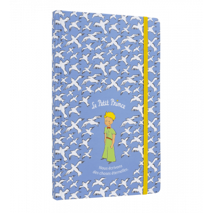 Carnet de note A5 - Dessine moi - Bleu