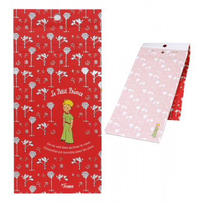 Magnetic memo block - Formalist The Little Prince - Red