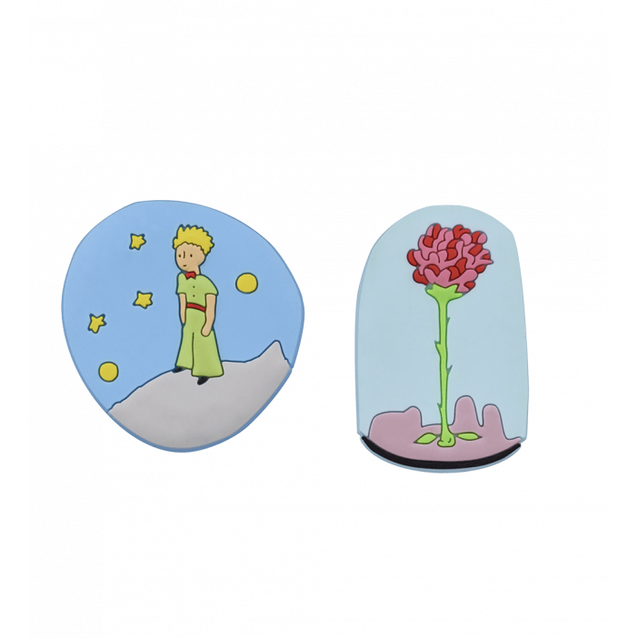 Set of 2 magnets - The Little Prince
