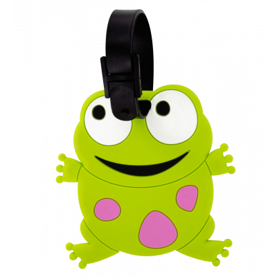 Luggage label - Ani-luggage - Frog