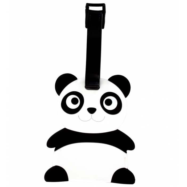 Etiquette de bagage - Ani-luggage Panda