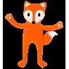 Anihook - Magnetic hook Fox