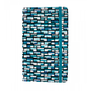 Large notebook - Note My Ideas - Vitrail Bleu