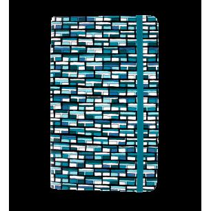 Taccuino modello grande - Note My Ideas - Vitrail Bleu
