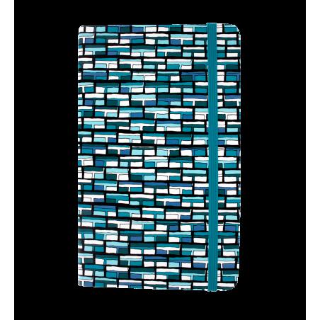 Heft groß - Note My Ideas Vitrail Bleu