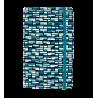 Note My Ideas - Taccuino modello grande Vitrail Bleu