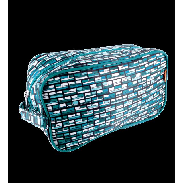 Vitrail - Trousse de toilette Vitrail Bleu