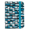 Keep My Contact - Porte cartes de visite Vitrail Bleu