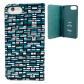 Flap cover/wallet case for iPhone 6, 6S, 7 - Iwallet 2 Jungle