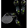 Sauterelle - Corde à sauter Black Cat
