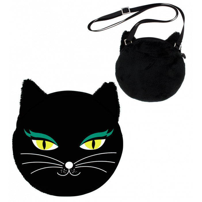Cat My Bag - Sac bandoulière Black Cat
