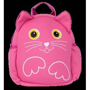 Kinderrucksack - NEO - Rosa Katze