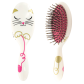 Ladypop Small - Brosse à cheveux White Cat