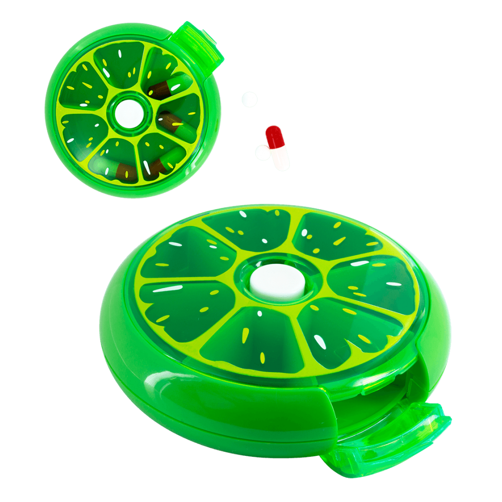 7 day pillbox - Spin Doctor Watermelon