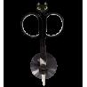 Chat beauté - Ciseaux à ongles Noir