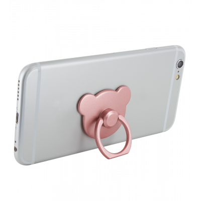 Ring phone holder - Addict - Pink