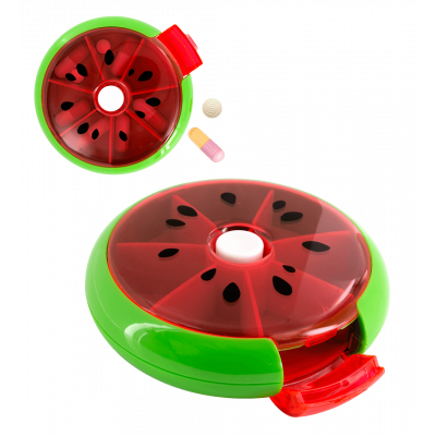 7 day pillbox - Spin Doctor - Watermelon