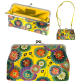 Clasp clutch bag - Clip Wide Orchid