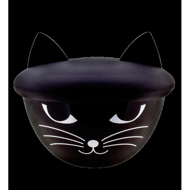Superbol - Ciotola con coperchio Nero