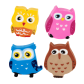 Owleraser - Set of 4 erasers