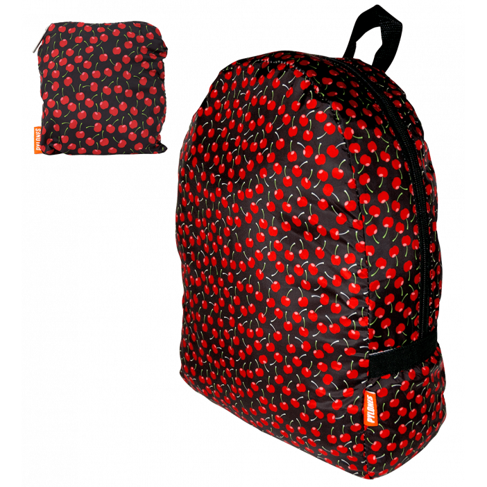 Zaino ripiegabile - Pocket Bag Cherry