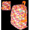 Zaino ripiegabile - Pocket Bag Fleurettes