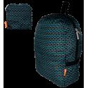 Foldable backpack - Pocket Bag Fleurettes