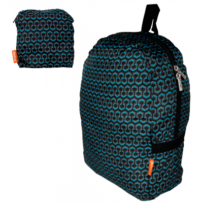 Faltbarer Rucksack - Pocket Bag - Hexableu