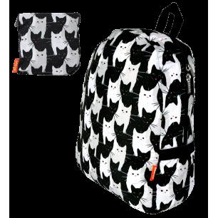 Faltbarer Rucksack - Pocket Bag - Cha Cha Cha