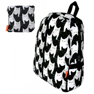 Foldable backpack - Pocket Bag - Cha Cha Cha