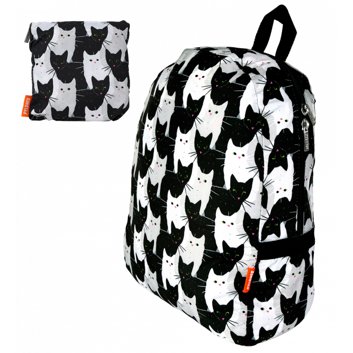 POCKET BAG - Foldable backpack Cha Cha Cha