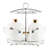 Tweet Tweet - Salt and Pepper shaker White