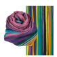 Scarf - Balade Orchid Blue