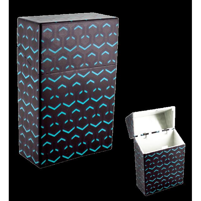 Zigarettenetui - Clop'in Hexableu