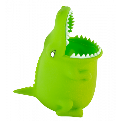 Pencil and pen holder / Toothbrush Holder - Popet - Crocodile