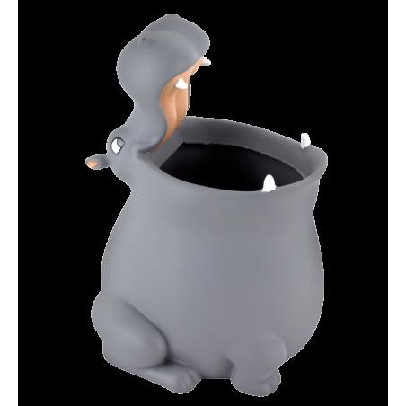 Pot à crayons / Porte Brosse à dents - Popet Hippopotame