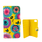 Flap cover/wallet case for iPhone 5/5S/5E - I Wallet Orchid