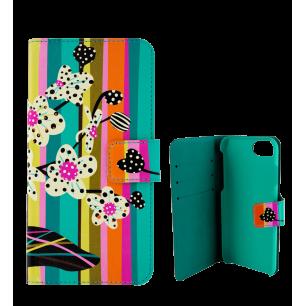 Custodia a portafoglio per iPhone 5/5E - iWallet