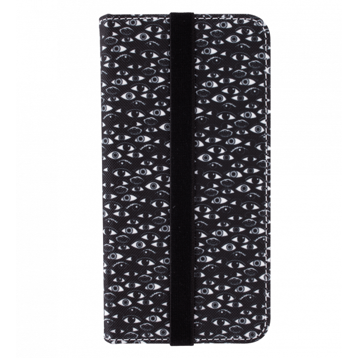 Flap cover/wallet case for iPhone 5/5E - iWallet Eye