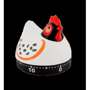 Minuteur de cuisine - On Time - Poule blanche