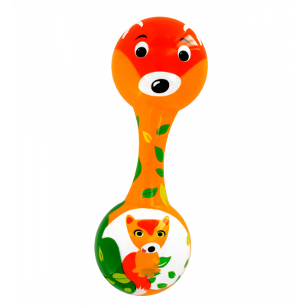 Maracas rattle - Chica Chica - Fox
